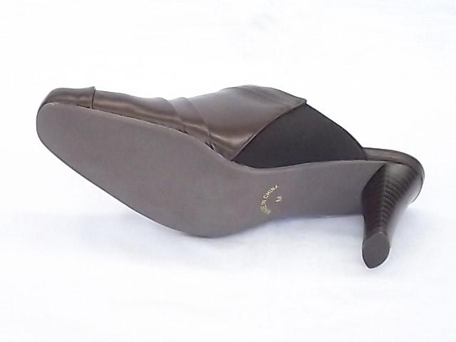 ローズクラウン ミュール 4213 ダークブラウン Mサイズ(23.5cm) < 女性ファッションの