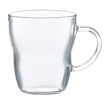 東洋佐々木ガラス マグカップ 耐熱グラス 食洗機対応 330ml 日本