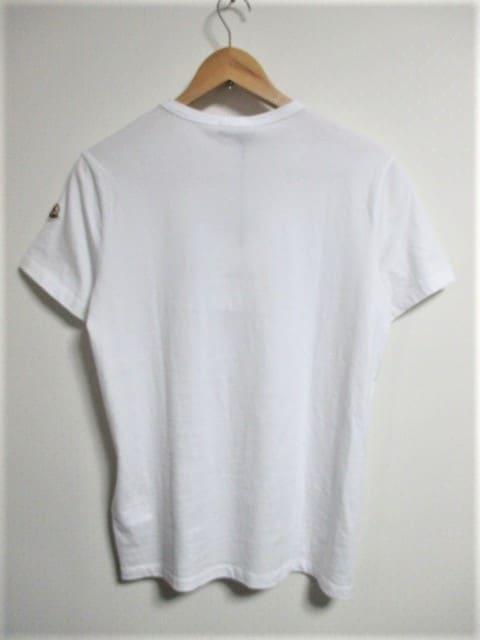 ☆MONCLER モンクレール ボックスロゴ ワッペン プリント Tシャツ/メンズ/S☆国内正規 < ブランドの