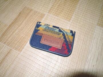 新品 PENDLETON ペンドルトン PDW カードケース CASE 紺