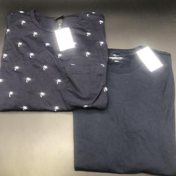 即決 H&M エイチアンドエム Tシャツ 2枚セット