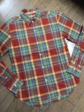 美品JOURNAL STANDARD チェックシャツ 日本製 ジャーナル