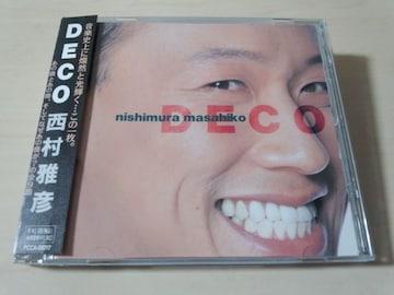西村雅彦CD「DEKO」●