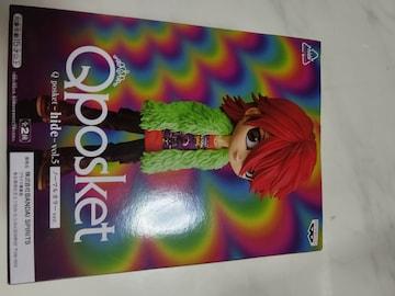 新品未開封 X JAPAN hide フィギュア 人形 1995 MISERY Qposket