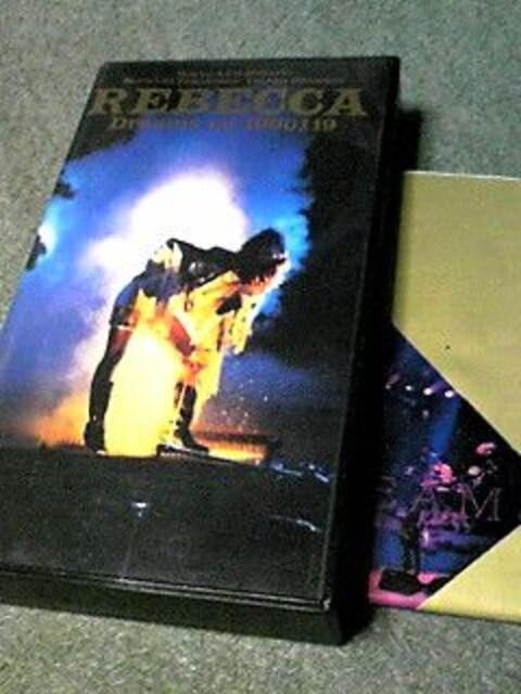 VHSレベッカ LIVE TOVR'89 TO'90FINAL  < タレントグッズの