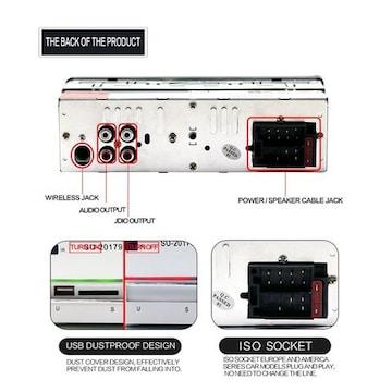 カーオーディオ Bluetoothハンズフリー高品質FM 2