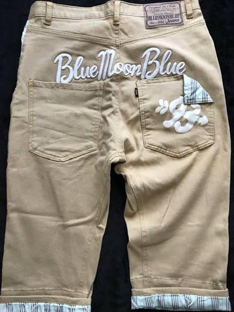BLUE MOON BLUE サルエルパンツ < ブランドの