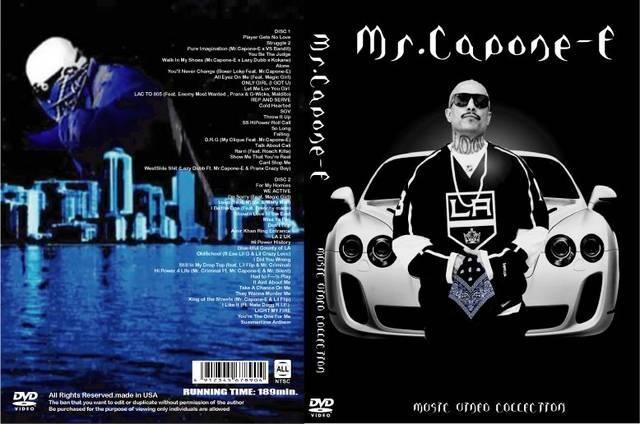 2019!MR. CAPONE-E プロモ集!PV MV 2DVD ミスターカポーンイー  < CD/DVD/ビデオの