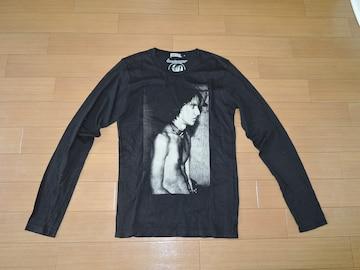ヒステリックグラマーHYSTERIC GLAMOURロンTシャツS黒Stooges