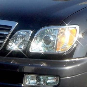 トヨタ ヘッドライト テールライト クロームリング シグナス 後期用