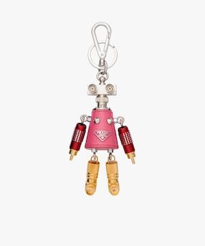 プラダ アウトレット 1TR028 ロボット チャーム キーリング