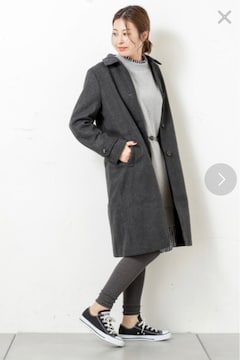 新品☆CIAOPANIC TYPY(チャオパニック)ウールコート☆