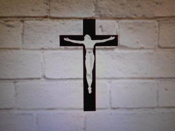 十字架 カッティングステッカー