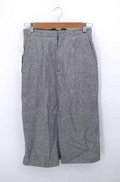 THE Shinzone(ザシンゾーン)19SS 千鳥柄スリットスカートタイトスカート