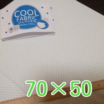 新品 ハンドメイド素材 / COOL ひんやり接触冷感生地 (送料込)