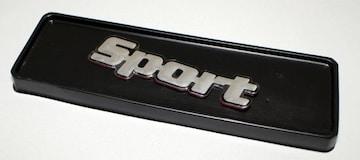 Sportエンブレム アルミ薄型タイプ