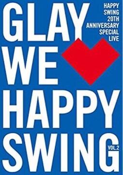 未開封GLAY DVD / HAPPY SWING 20th Anniversary SPECIAL LIVE