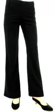 新品【5313】(Mサイズ股下75cm)黒★ストレッチブーツカットパンツ