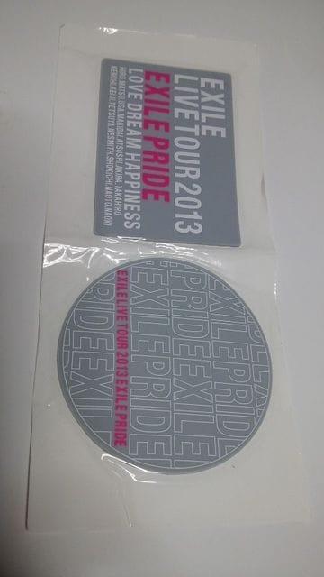 新品EXILE LIVE TOUR 2013EXILE PRIDEコースター送料無料  < タレントグッズの