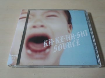 SOURCE CD「KA-KE-HA-SHI」●