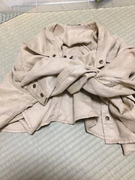 エゴイスト 腰巻風シャツスカート