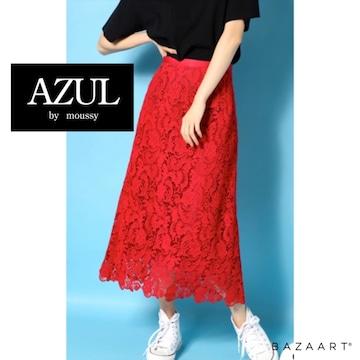 ☆AZUL by moussy コットンレースミディスカート☆