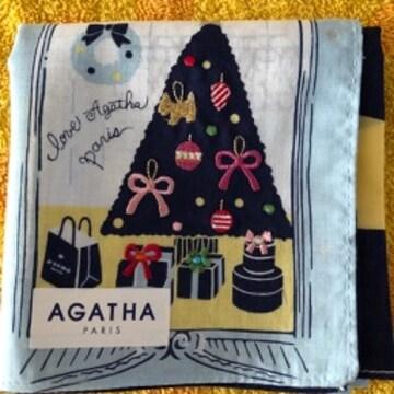 アガタ ハンカチ クリスマスツリー