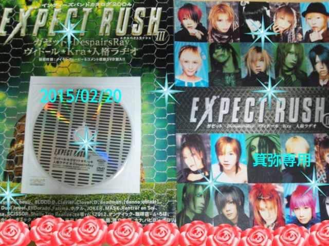 2004年「EXPECTRUSH」特典ステッカー&DVD◆シド喪服/ヴィド◆27日迄価格  < タレントグッズの