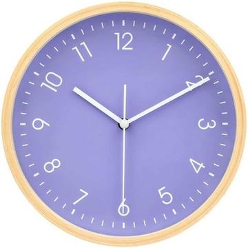 インテリア 掛け時計 アナログ 木製 コンパクト 20pu
