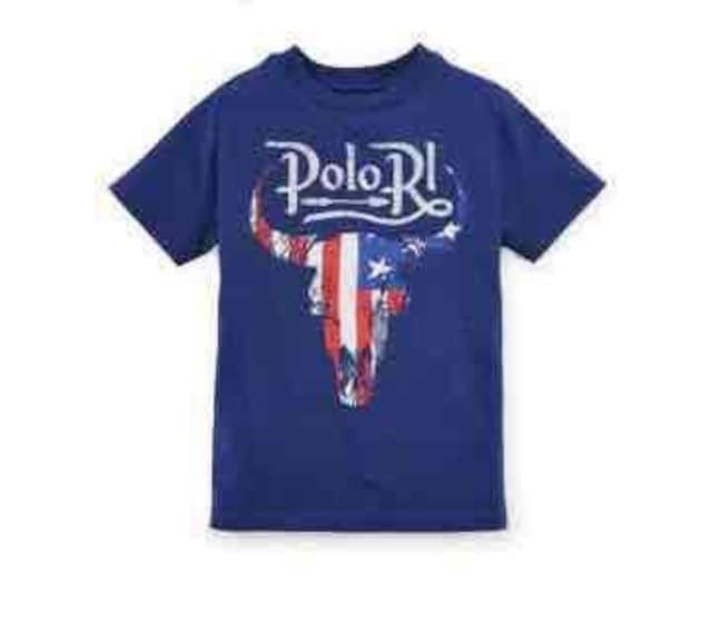 RALPH LAUREN☆アメリカングラフィックTシャツ・新品  < ブランドの