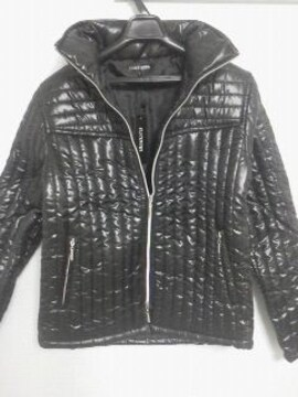 Aー461★新品★men'sダウンジャケット ブラック M