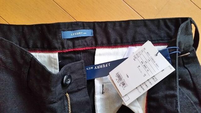 ¥9,612 J.FERRY ジェイフェリー パンツ ブラック新品 L < 男性ファッションの