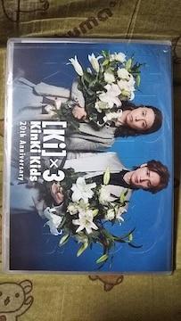 送込・非売品・未開封〓KinKi Kids〓ファンクラブ限定〓20周年記念DVD