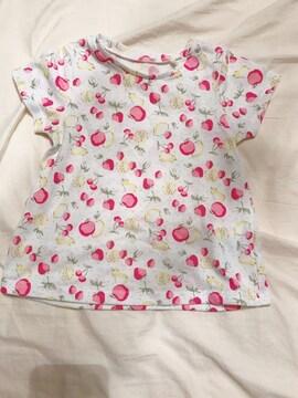 新品女の子Tシャツ80
