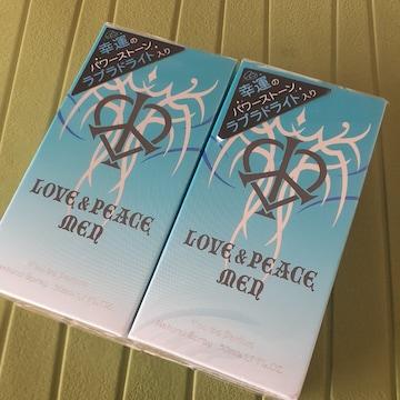 新品 LOVE&PEACE ラブ&ピース メン EDP 50ml2本set