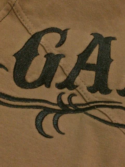 ◆GARULA ◆刺繍デカロゴカットソー◆BR ◆ < ブランドの