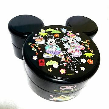 新品 ミッキー ミニー ディズニー 重箱 弁当箱 お重箱 お正月