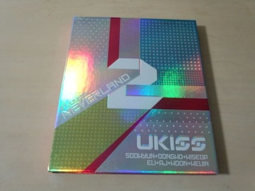 U-KISS CD「Neverland : U-Kiss Vol. 2」韓国K-POP●