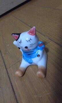 ★足伸ばし可愛い★猫 ★置物★