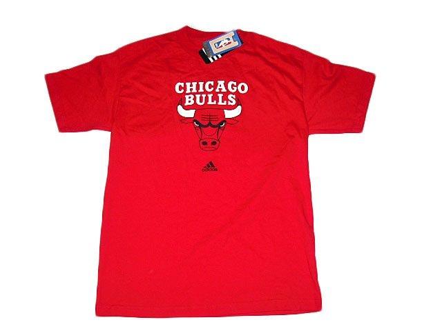 シカゴブルズchicago bullsアディダス Tシャツadidasレッド2XL  < 男性ファッションの