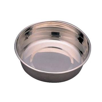 ステンレス製食器 小型犬用 直径12cm