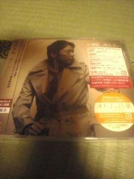 未開封CD初回盤B 徳永英明/WE ALL