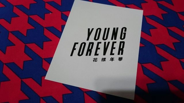 BTS 防弾少年団 YOUNG FOREVER 封入ポラ風トレカ 全員ver.即決可 < タレントグッズの
