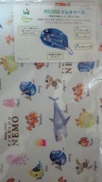 ファインディングニモ 3ポケットマルチケース/母子手帳ケース