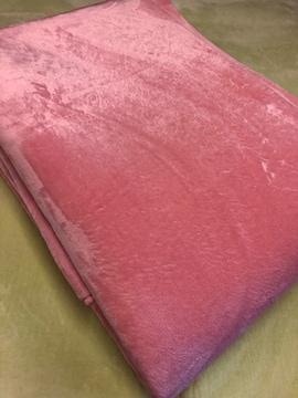 新品☆185×280�pオールシーズンはっ水ボアラグ ピンク♪☆j689