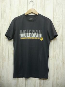 即決☆ジャックウルフスキン  ロゴ 半袖Tシャツ FTM/XL  速乾 耐久