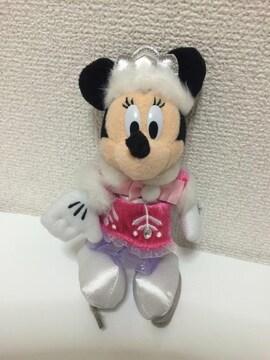 ミニーホワホリディズニーぬいばぬいぐるみバッジ☆11