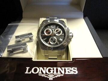 □LONGINES/ロンジン ハイドロコンクエスト クロノグラフ メンズ☆時計