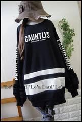 新品*100円〜☆セレカジロゴ袖ファーチュニ*大きいサイズ*3L/4L
