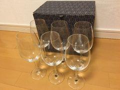 新品未使用ショットツヴィーゼルイベントワイングラス6脚セット